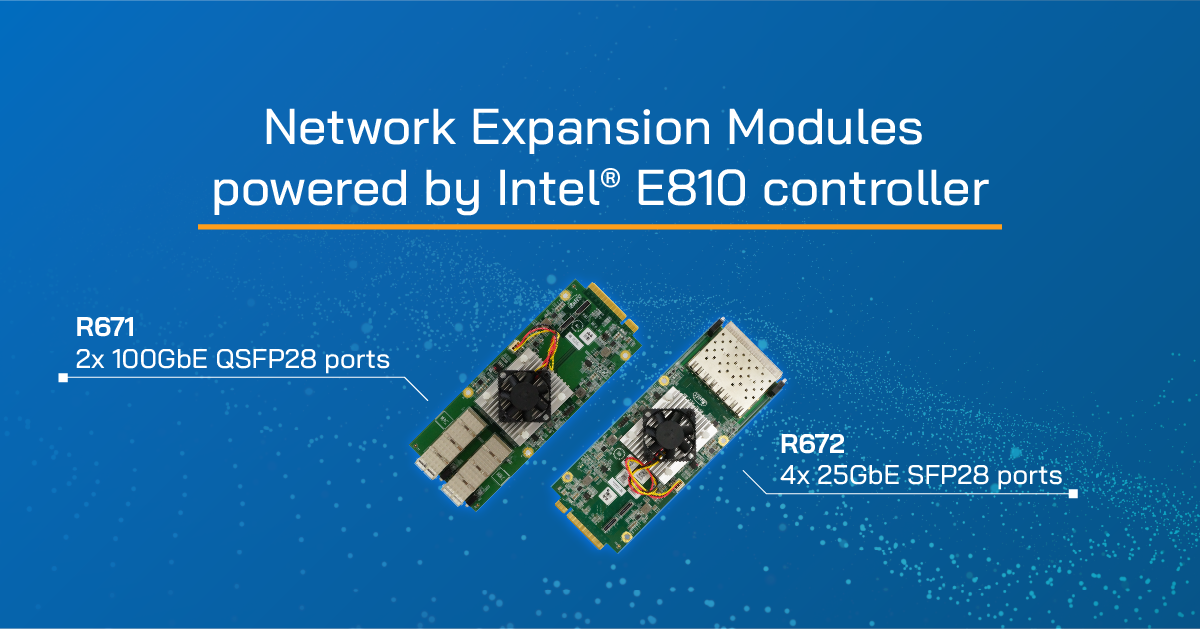 intel E810 network modules